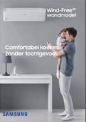 Samsung Wind-Free wandmodel
