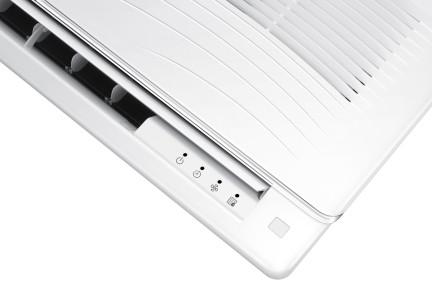 Samsung 1-weg cassette warmtepomp airco