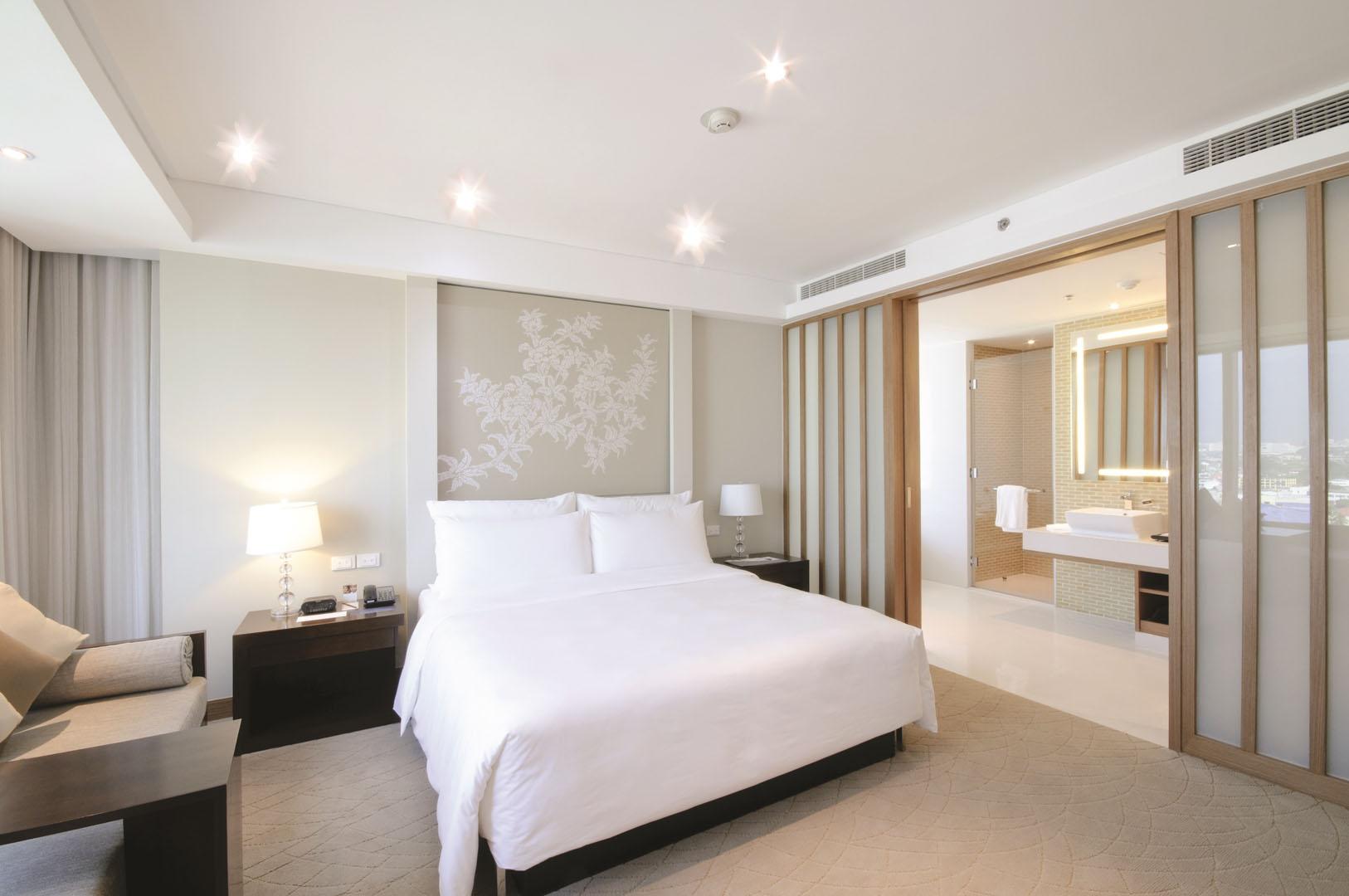 Verwarmen en koelen met een Samsung warmtepomp airco in hotels
