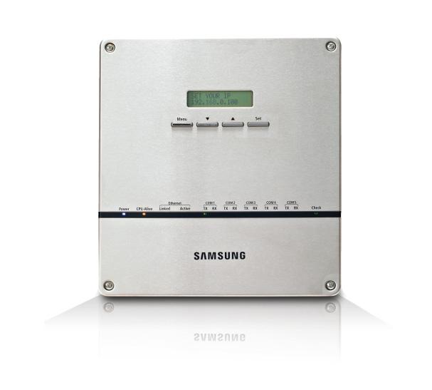Samsung gebouw beheer systeem voor een warmtepomp