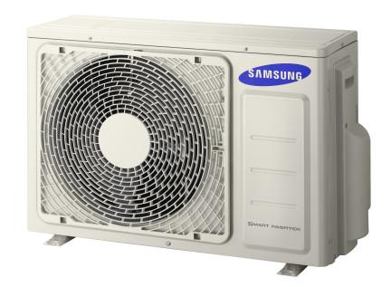 Buitendeel Samsung single split warmtepomp airco