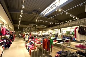 een warmtepomp, ventilatie en airco in winkels