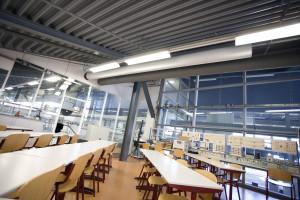 warmtepomp, airco en ventilatie in een frisse school