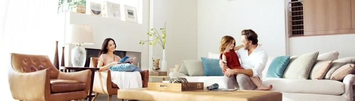 comfortabel verwarmen en koelen in woning met een Samsung warmtepomp en airco