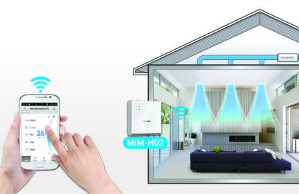 Bedieningsgemak Samsung warmtepomp airco