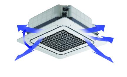 Comfortabele luchtverdeling met een Samsung warmtepomp airco