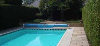Verwarmen zwembad met een lucht water warmtepomp