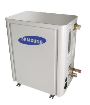 Samsung laag temperatuurs hydro unit voor een DVM S warmtepomp airco