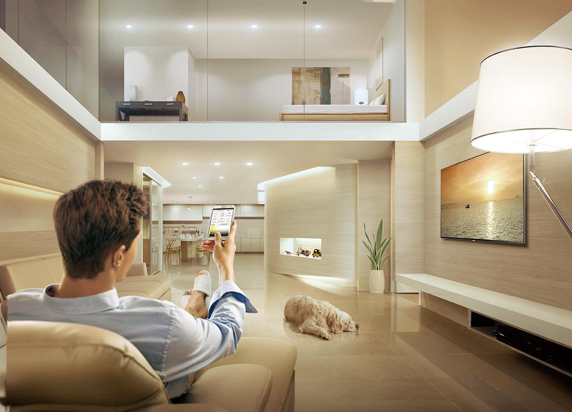 Optimaal bedieningsgemak Smart Home met een Samsung bediening