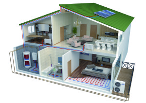 Samsung Eco Heating System split lucht-water warmtepomp