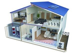 Samsung Eco Heating System TDM gecombineerde lucht-water warmtepomp