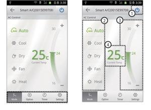 Warmtepomp en airco bedienen op afstand met Samsung