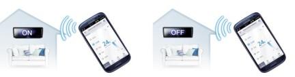 Optimaal gebruiksgemak met een Smart home wifi bediening van Samsung