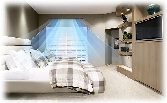 Verwarmen en koelen van een hotelkamer met een Samsung warmtepomp airco