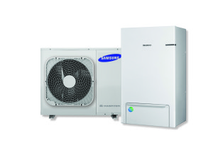 Samsung split lucht water warmtepomp Eco Heating System