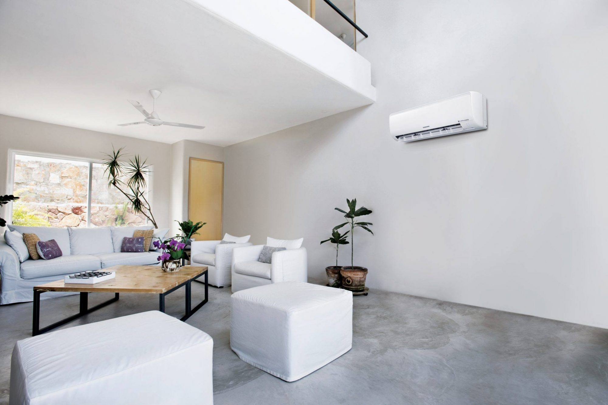 Samsung ambrava Maldives airconditioner woonkamer