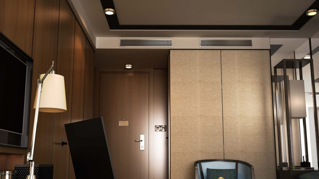 Samsung airconditioning kanaal hotel
