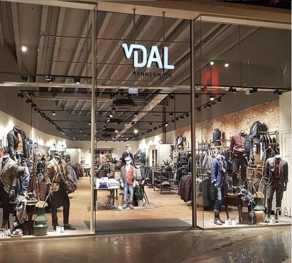Van Dal mannenmodel winkelklimaat