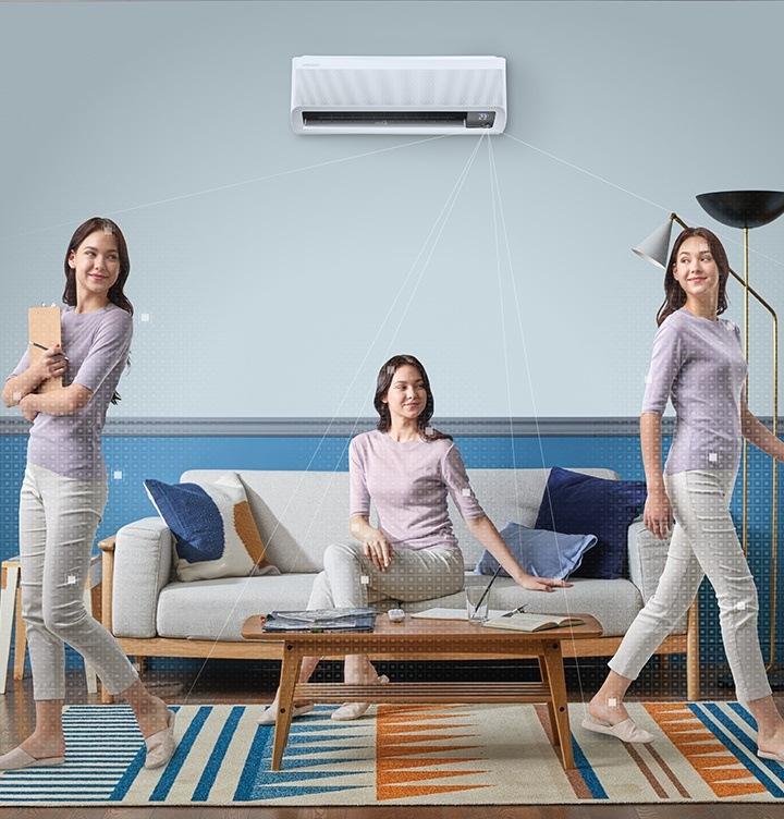 Samsung Wind-Free energie efficient
