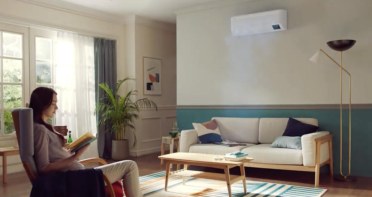 Samsung Wind-free airconditioner thuis