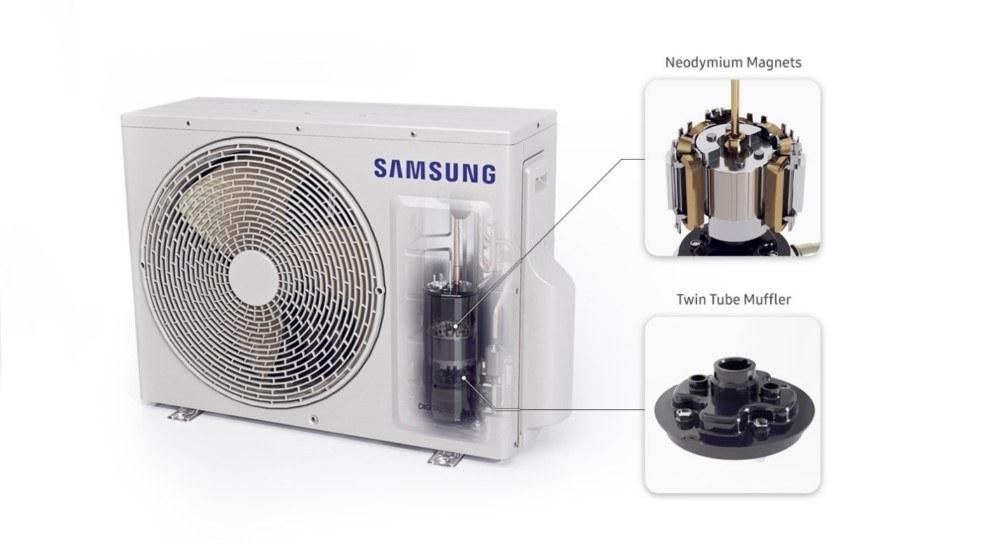 Samsung airconditioning met Digital Inverter technologie