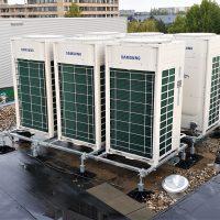 Samsung VRF-DVM voor verwarmen en koelen